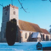 All Saints Church in winter